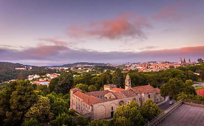 Photograph - Sunset Santiago De Compostela by Gary Gillette