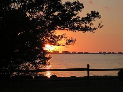 Photograph - Sunset On Sarasota Harbor by Richard Goldman