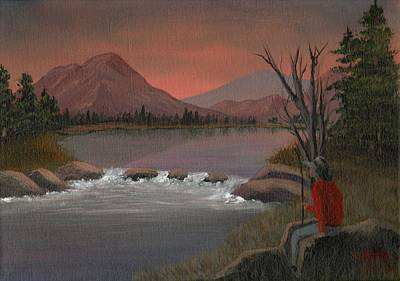Painting - Sunset Serenade by Sheri Keith