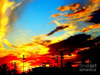 Photograph - Sunset Silhouettes by Renee Trenholm
