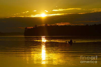 Photograph - Sunset Solitude II by Alice Mainville