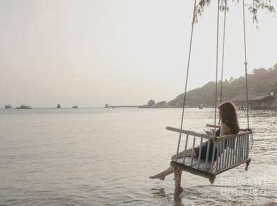 Photograph - Sunset Solitude by Soren Egeberg