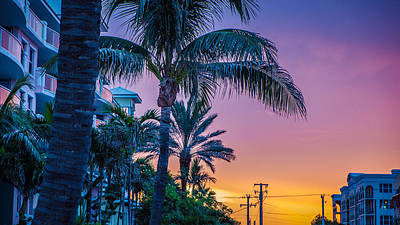 Photograph - Sunset South Florida by Louis Ferreira