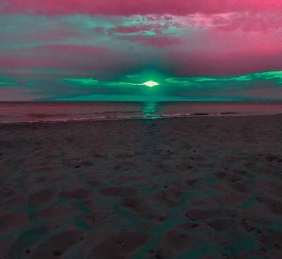 Sunset Spectrum Art Print by Dan Sproul