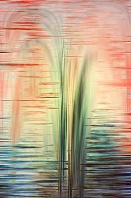 Digital Art - Sunset Splash by Carolyn Marshall