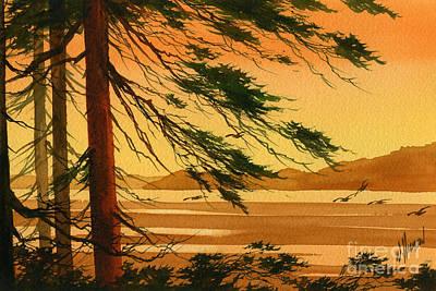 Sunset Splendor Art Print by James Williamson