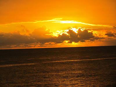 Sunset  Art Print by Stephanie Francis