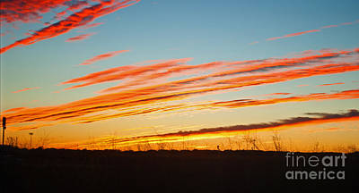 Photograph - Clouds Straight by George D Gordon III