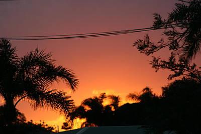 Photograph - Sunset Stratbroke Island by Phoenix De Vries