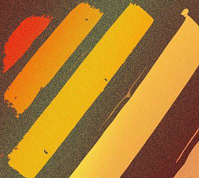 Sunset Strips Art Print