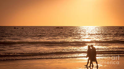 Photograph - Sunset Stroll by Julie Clements