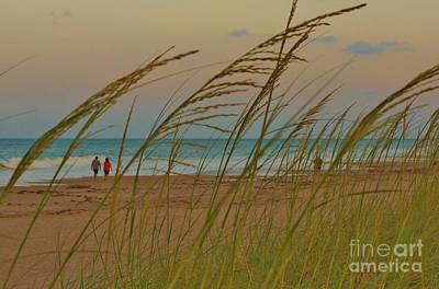 Photograph - Sunset Stroll by Lynda Dawson-Youngclaus
