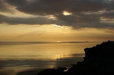 Sunset / Sun Rays Original by Gynt