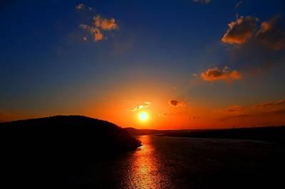 David Jones Photograph - Sunset Suquehanna  by David  Jones