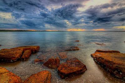 Photograph - Sunset Surprise by Paul Svensen