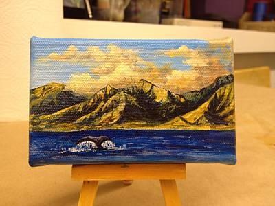 Painting - Sunset Swim by Darice Machel McGuire