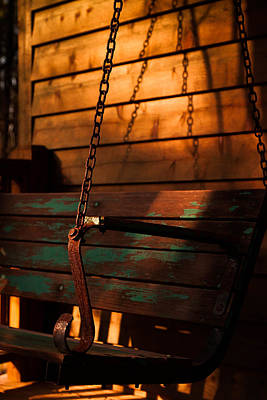 Photograph - Sunset Swing by Haren Images- Kriss Haren