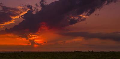 Photograph - Sunset Tempest by Dakota Light Photography By Dakota