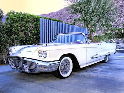 Car Auction Photograph - Sunset Thunderbird 2 Palm Springs by William Dey