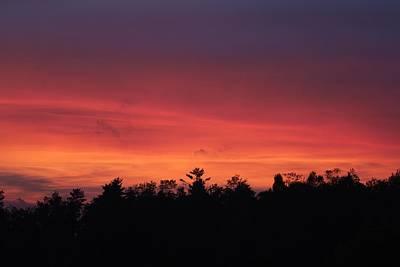 Sunset Tones Art Print