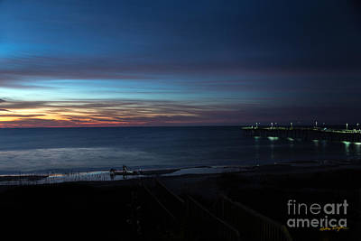 Photograph - Sunset Topsail Beach 1 - 2014 by Matthew Turlington