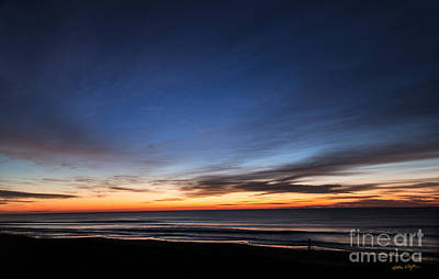 Photograph - Sunset Topsail Beach 2 - 2014 by Matthew Turlington
