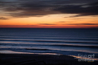 Photograph - Sunset Topsail Beach 3 - 2014 by Matthew Turlington