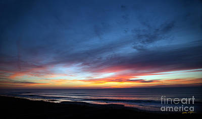 Photograph - Sunset Topsail Beach 4 - 2014 by Matthew Turlington