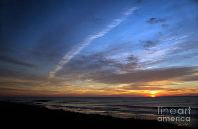 Photograph - Sunset Topsail Beach 5 - 2014 by Matthew Turlington