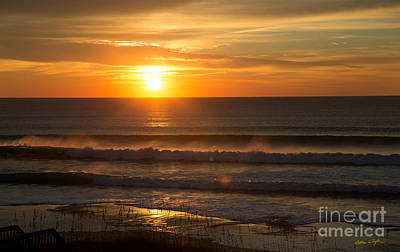 Photograph - Sunset Topsail Beach 6 - 2014 by Matthew Turlington