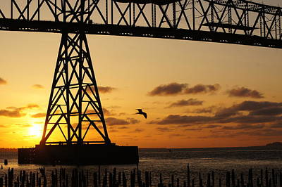 Photograph - Sunset Under The Bridge by Angi Parks