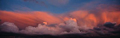 Thunderhead Photograph - Sunset Ut Usa by Panoramic Images