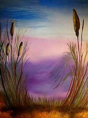Painting - Sunset by Valorie Cross