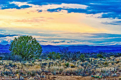 Photograph - Sunset Verde Valley Arizona by Bob and Nadine Johnston