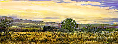 Photograph - Sunset Verde Valley Thousand Trails by Bob and Nadine Johnston