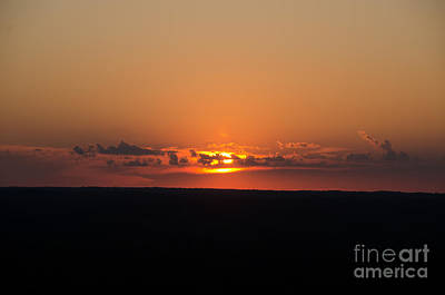 Photograph - Sunset View From Fire Tower 2 by Cassie Marie Photography