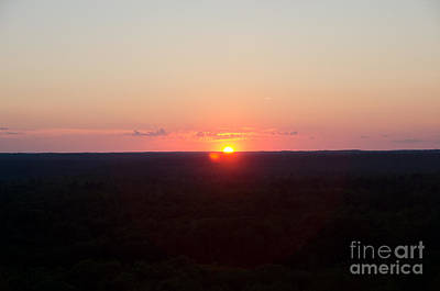 Photograph - Sunset View From The Fire Tower 5 by Cassie Marie Photography