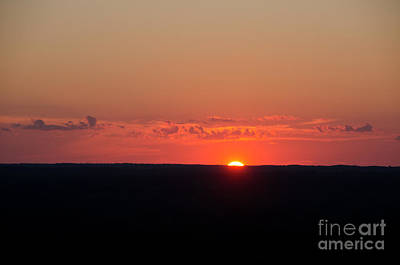 Photograph - Sunset View From The Fire Tower 7 by Cassie Marie Photography