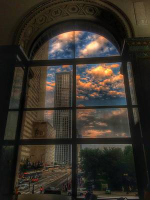 Wall Art - Photograph - Sunset View Of Chicago by Nick Heap