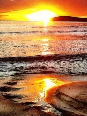 Digital Art - Sunset View Of Watch Ho - Vertical by Lyn Voytershark