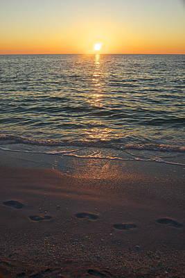Photograph - Sunset Walk by Amazing Jules