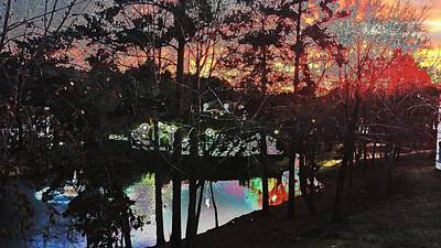 Sunsets Photograph - Sunset Watercolor by Kenny Glover