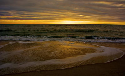 Photograph - Sunset Waves by Kathi Isserman