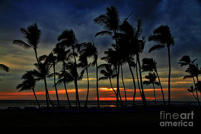 Photograph - Sunset Wind Hawaii By Diana Sainz by Diana Raquel Sainz