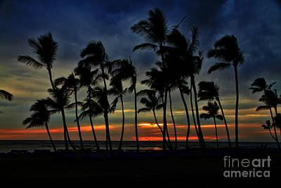 Photograph - Sunset Wind Hawaii By Diana Sainz by Diana Raquel Sainz