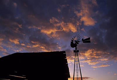 Photograph - Sunset Windmill II by Doug Davidson