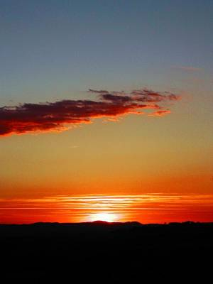 Photograph - Sunset With Lines by Dorothy Berry-Lound