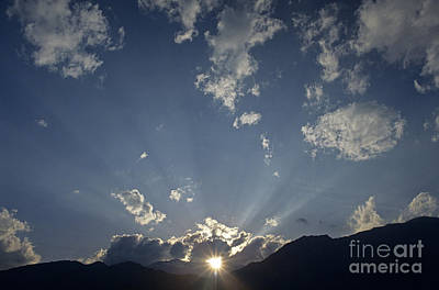 Photograph - Sunset With San Bernadino Mountains  by Jim Corwin