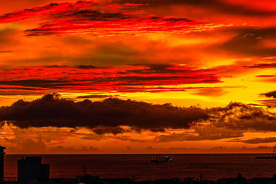 Sunset Wow2 Art Print