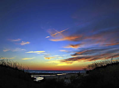 Sauble Beach Photograph - Sunset X by Steve Harrington